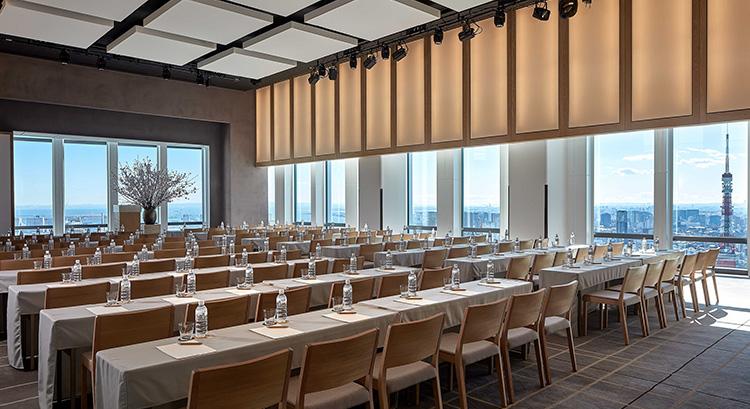MICE Event & Meeting space in Tokyo Andaz Tokyo Toranomon Hills