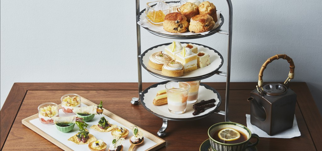 citrus afternoon tea