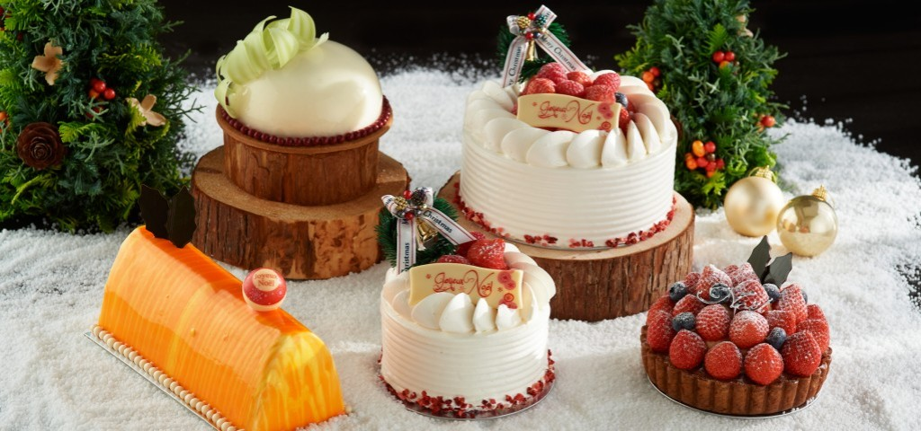 Pastry Shop Christmas Cakes
